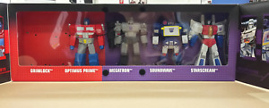 SDCC 2013 TRANSFORMERS TITAN WARRIORS 5-PACK; Grimlock NOT included