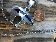 Sterling Silver Ray Tracy Necklace Navajo 24 Inch Sterling Silver Chain #1244