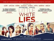 LITTLE WHITE LIES Movie POSTER 27x40 UK Fran ois Cluzet Marion Cotillard Beno t