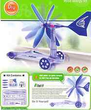 36 PCS DIY WIND POWER CAR EDUCATIONAL KIT SCIENCE FUN TOY CREATIVE ACTIVITY