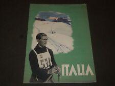 1936 DECEMBER ITALIA MAGAZINE - NICE PHOTOS - J 2158