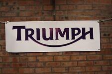 triumph tiger trophy explorer thunderbird  work shop banner  pvc banner