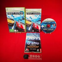 Test Drive Unlimited + Map - Microsoft Xbox 360 PAL Game *BellaRoseCollectables*