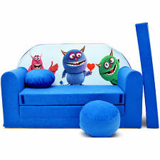 Blue Sofa Bed for Children