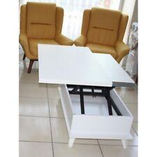 Couchtisch Tisch Ausziehbar Höhenverstellbar Sofatisch Smart Table Esstisch
