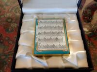 Large And Rare Halcyon Days Enamel Box Year 2001