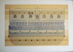 Barbara Battiston litografia Venezia 70x50 firmata numerata 21/80
