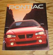 Original 1993 Pontiac Full Line Sales Brochure 93 Firebird Grand Prix Trans Am