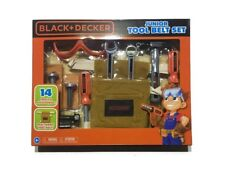 BLACK+DECKER Junior 14 Piece Toy Tool Belt Set