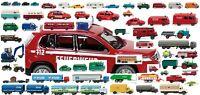 WIKING 1:160 / Spur N, Pkw, Lkw, Bus, Traktoren, Polizei, Feuerwehr, Neu
