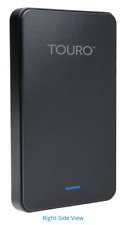 HGST 1TB Touro Mobile MX3 USB 3.1 Gen 1 External Hard Disk Drive (Black)