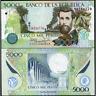 COLOMBIA  5000 Pesos 2014 UNC P 452 q