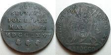 1816  Roma   Pius  VII   1 Baiocco