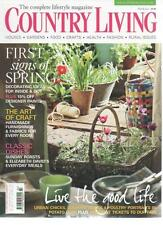 COUNTRY LIVING MAGAZINE March 2011 First Signs of Spring AL
