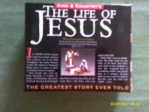 KING AND COUNTRY LIFE OF JESUS MOUNTED ROMAN FIGURE.
