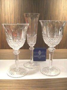 Saint Louis Cristal France Glasses Tommy Set 3 Calici Tommy Cristallo