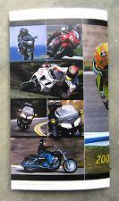 HONDA Roadbike Range 2002 Sales Brochure VTR CBR VFR CB900 VT750 VTX GL 1800 NSR