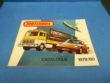 1979/80 MATCHBOX COLLECTOR'S CATALOG