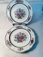 Wedgwood Floral Luncheon Plates Set of 2 Etruria ENGLAND