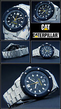 Diver's Cat Shockmaster Man's Watch Chronograph Shock Protected Stainless Steel