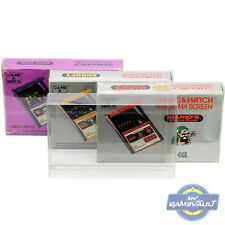 1 x Game & Watch Panorama Screen Box Protector STRONG 0.4mm Plastic Display Case