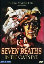 Seven Deaths in the Cat's Eye (DVD, 1973) Blue Underground New and Sealed