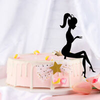 la décoration joyeux anniversaire gâteau acrylique outil de pâtisserie cupcakes