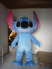 Lilo&Stitch Mascot Costumes haloween Xmas party game Fancy Dress adults size hot
