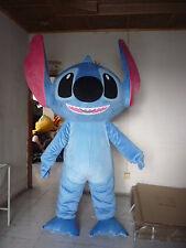 2017 New Big Head Stitch Mascot Costume of Lilo & Stitch Fancy Dress Outfit Gift