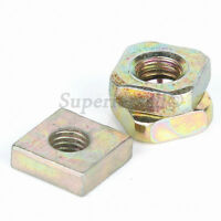 M3 M4 M5 M6 M8 Square Nuts to Fit Metric Bolts & Screws - Zinc Plated Steel