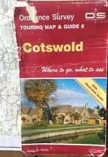 Cotswold Ordnance Survey Touring Map & Guide 8 1991