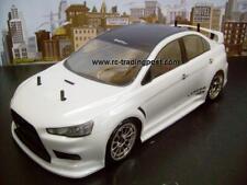 Custom Painted Body LANCER EVO X for 1/10 RC Drift Cars Touring HPI 200mm