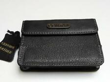 Contax Black Genuine Leather Compact Digital Camera Case (Int) 103 x 60 x 20mm