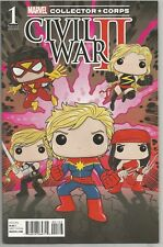 Marvel Comics Collector Corp  Civil War II Variant # 1 NM Funko Pop