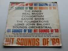 THE SOUNDS OF 69  ORIG  1969 RARE SOUTH AFRICAN  LP THE  KINKS LONG JOHN BALDRY