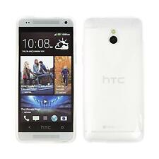 Coque en Silicone HTC One Mini - X-Style transparent + films de protection