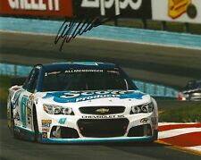 A.J ALLMENDINGER signed NASCAR 8X10 photo with COA E