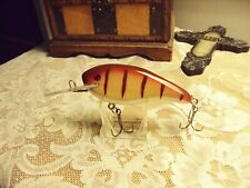 """DW 000 Shad Magnum Custom Muskie Lure by Danny Wade """"Gold TIGER Perch"""""""
