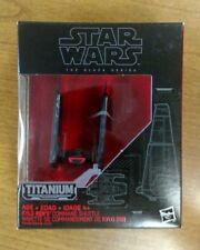 Star Wars Titanium Black Series Die Cast Kylo Renn's Command Shuttle #03 NISB