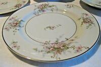 """6 pc Lot Theodore Haviland NY Apple Blossom China Luncheon Plates 8 5/8"""""""