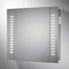 Fine della linea 272 Rowan LED Illuminato Armadietto A Specchio Sensore, Rasoio & demister