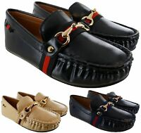 KIDS BOYS DESIGNER SMART FORMAL CAUSAL PARTY DRESS WEDDING TRAINERS SHOES SIZES