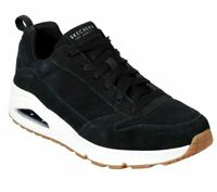 SKECHERS UNO MENS TRAINERS SUEDE LEATHER LACE UP MAX AIR SHOES 52456 SIZE UK 7.5