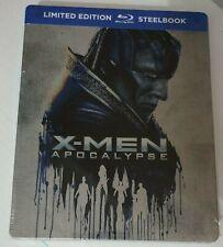 X-MEN APOCALISSE BLU-RAY STEELBOOK EDITION Jennifer Lawrence, Michael Fassbender