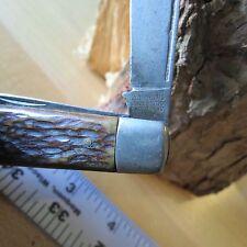 Vintage Camillus WW II knife Military issue 4 line Camillus knife (Lot#11462)