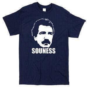 Graeme Souness Football Icon T-shirt - Classic Retro Scotland Fan Tee Shirt