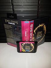 Lord of the Rings Stormlord - Platform Video Game for Sega Genesis! Cart & Box