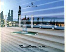 Maserati Quattroprte 2003 English text prestige sales brochure