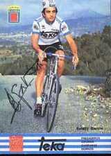 EULALIO GARCIA Signée Autographe cycling equipo TEKA cyclisme ciclismo cycliste