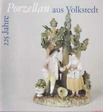 Fachbuch 225 Jahre Porzellan aus Volkstedt sehr selten - interessantes Büchlein